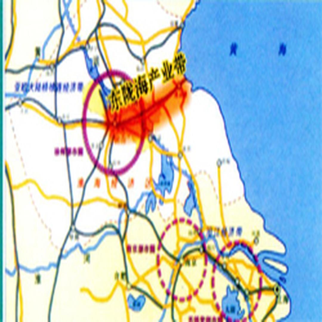 东陇海产业带地图